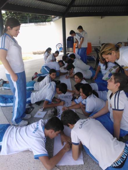 Profesores del colegio colaboran como voluntarios en los grupos del Movimiento Calasanz.