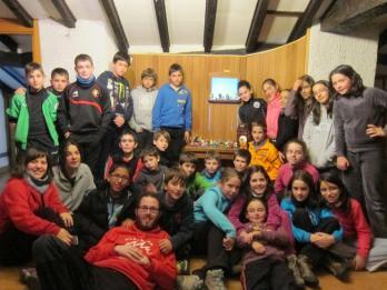 . 6º ep camp navi2013: campamento de Navidad del grupo de 6º de Primaria del colegio Calasanz