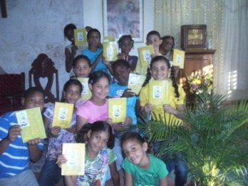 Los niños de MIES de la parroquia San José de Calasanz