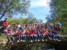 Paso Bidean 1 y 2 2013: primera salida de los grupos en este curso