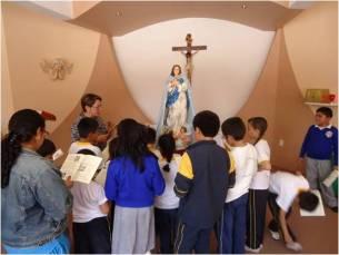 Desde la tierna infancia el amor a María.